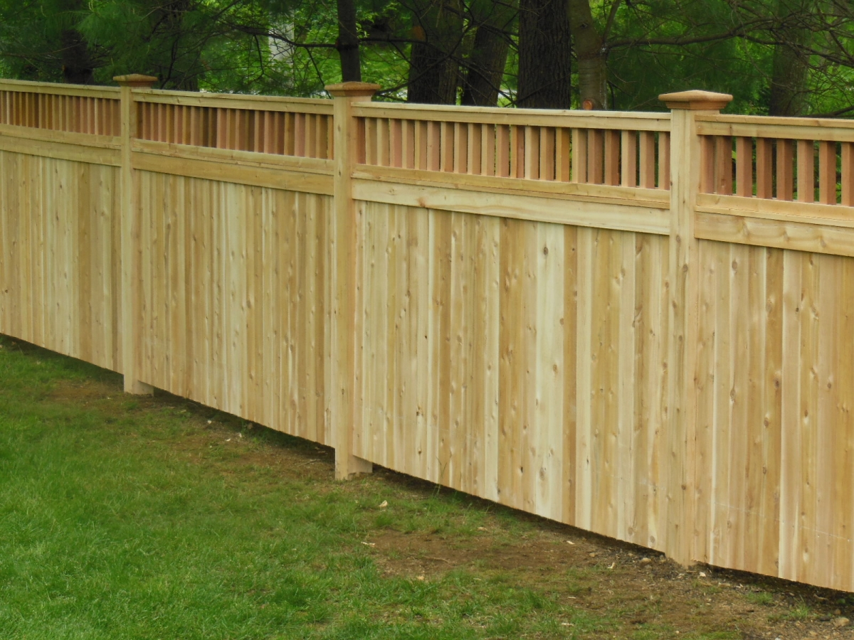 Gallery - Holman\'s Custom Fencing